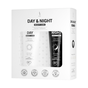 Zestaw past do zębów DuoLife Day & Night Beauty Care (2x50ml)